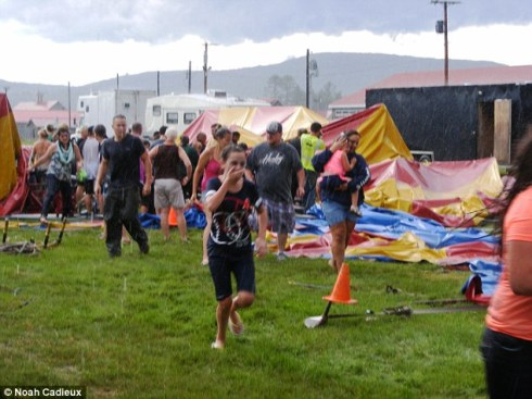 Image result for images of circus big top collapsing