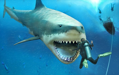 Image result for images of megalodon
