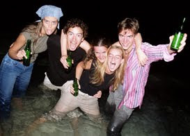 Image result for images of drunken teens